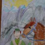Диана Карамоч, 7 год.